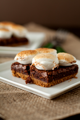 S'mores Brownies Recipe — Dishmaps