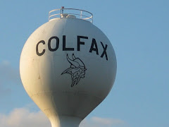 Village of Colfax Water Tower