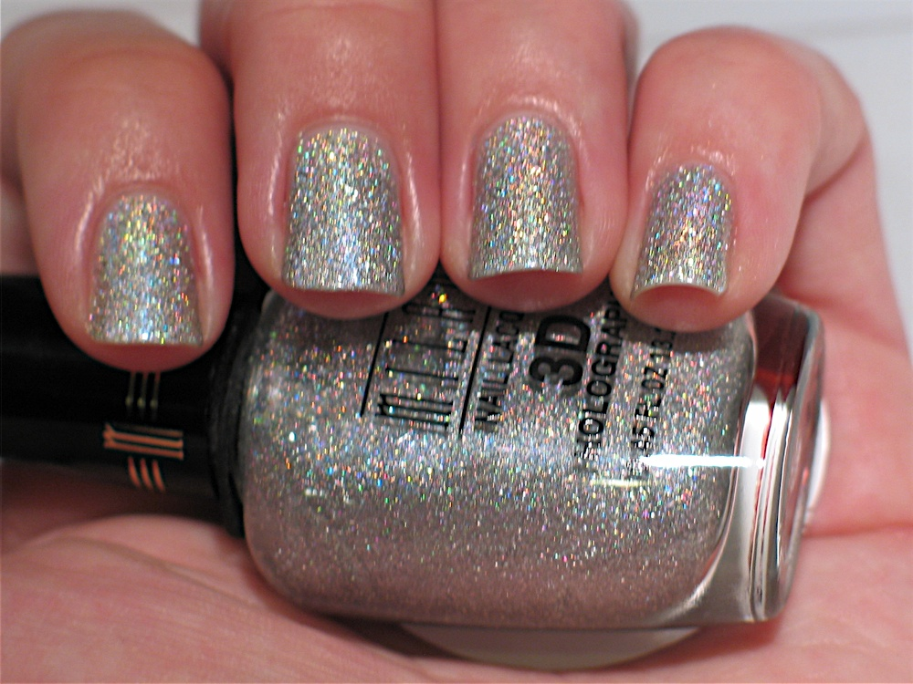 Lacquerish: Milani 3D Holographic Gold and Silver Swatches