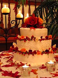 of fall wedding cakes.