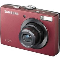 Samsung L100 8.2MP Digital Camera with 3x Optical Zoom (Red)