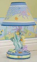 Sea Quest Lamp Base and Shade