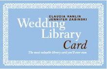 Wedding Library Card