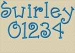Swirly Font