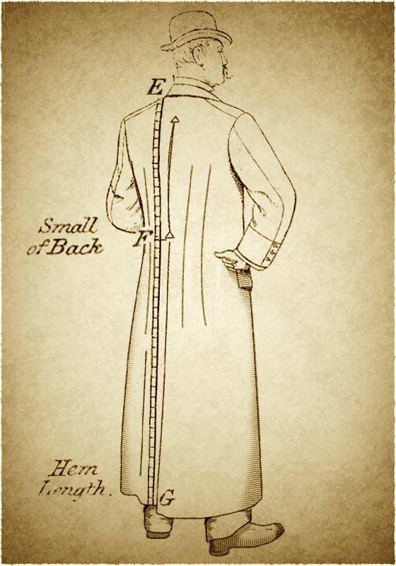 how to know if coat is too small