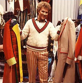 ... in the first episode of a new Doctor where the old skin is finally shaken off and a re-designed costume helps define the start of a new era in Doctor ...  sc 1 st  Making My 6th Doctor Costume & Making My 6th Doctor Costume: Sixth Doctor costume transition
