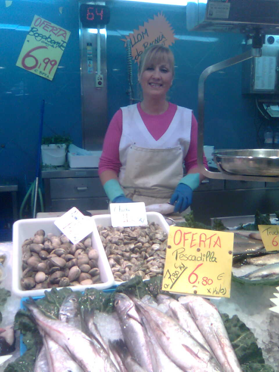 The spanish touch private tours in spain fish market for Fish in spanish