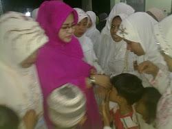Penyambutan Ibu Nyai Hj. Siti Halimah Muzakki
