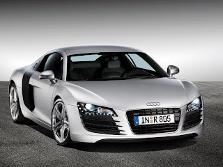 White Audi R8 Car Wallpapers