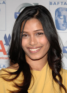 Top 10 Sexiest woman 2009 Freida Pinto
