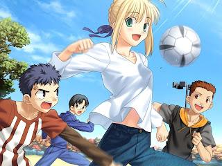 Anime Soccer Image