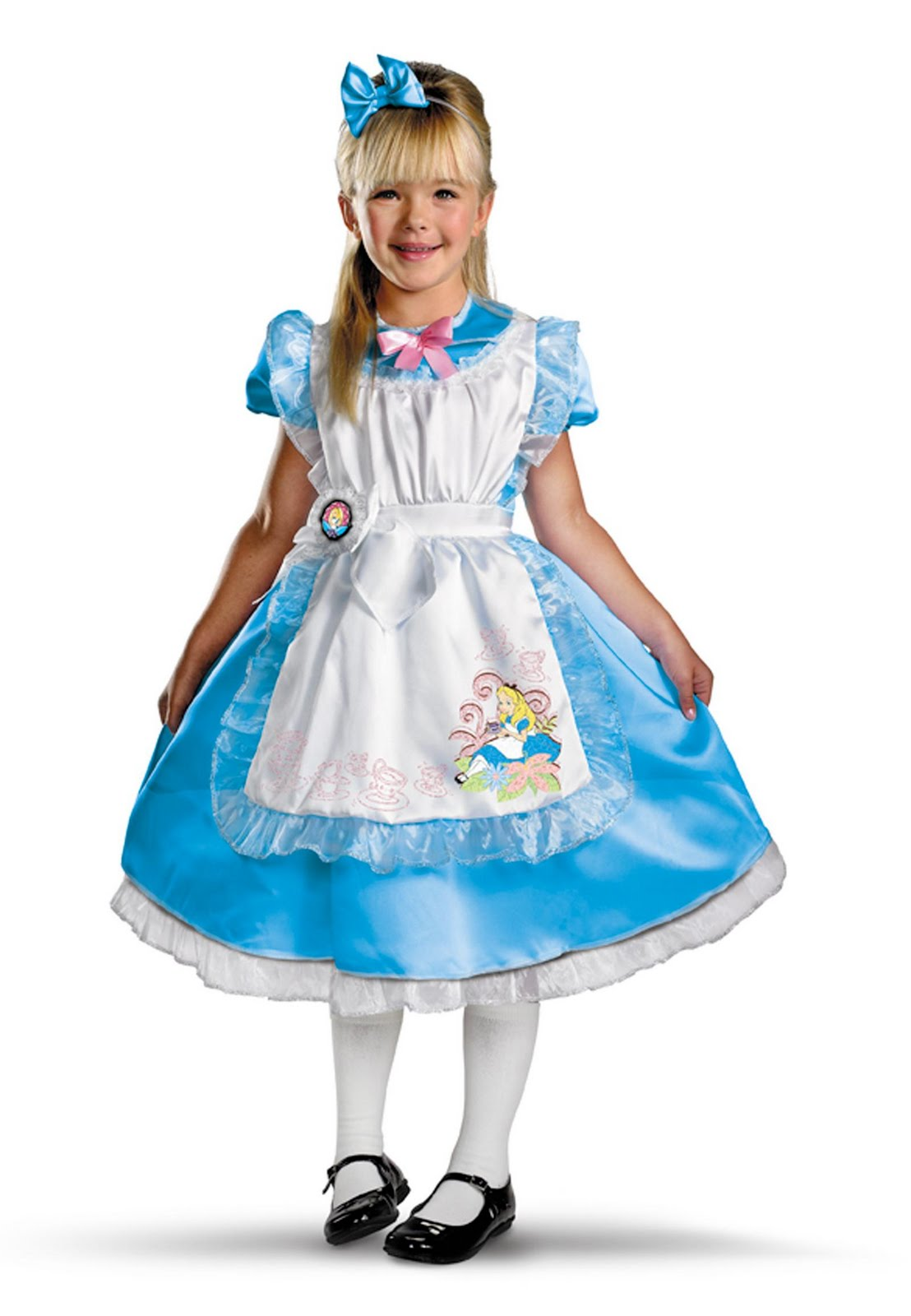 Lincah Cartoon  Alice in Wonderland Kids Halloween Costume