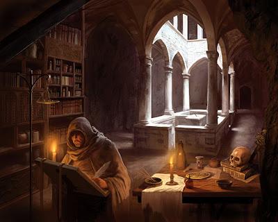 Artistic paintings desktop background
