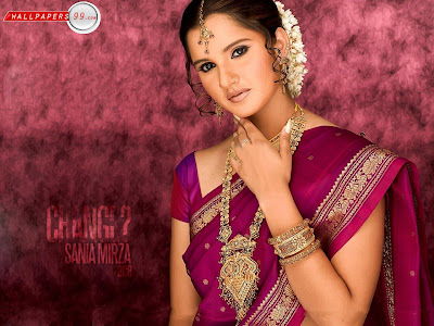 Sania Mirza Widescreen Wallpaper