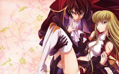 Lelouch Lamperouge Anime Desktop Background