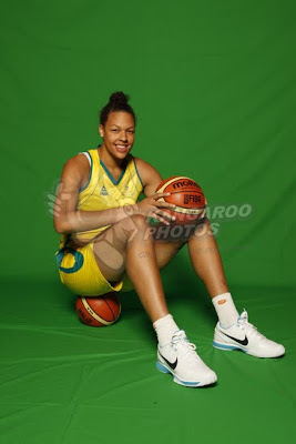 Basketball Player Elizabeth Cambage