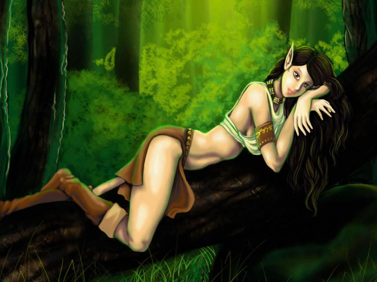 Sexy nude female elf adult pictures