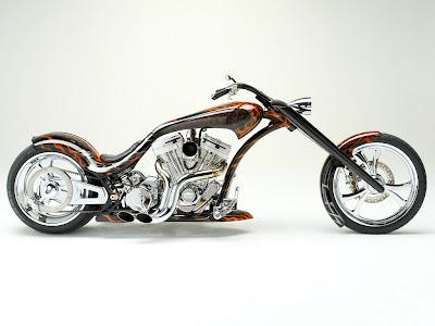 Thunder Chopper Bike Wallpaper