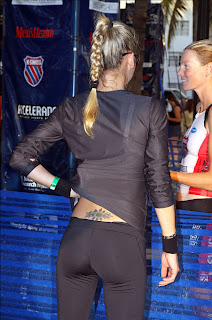 Anna Kournikova Tattoo on her Back