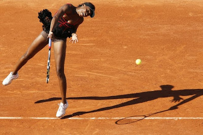 Venus Williams in Black Mini Skirt