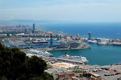 Barcelona from Montjuic