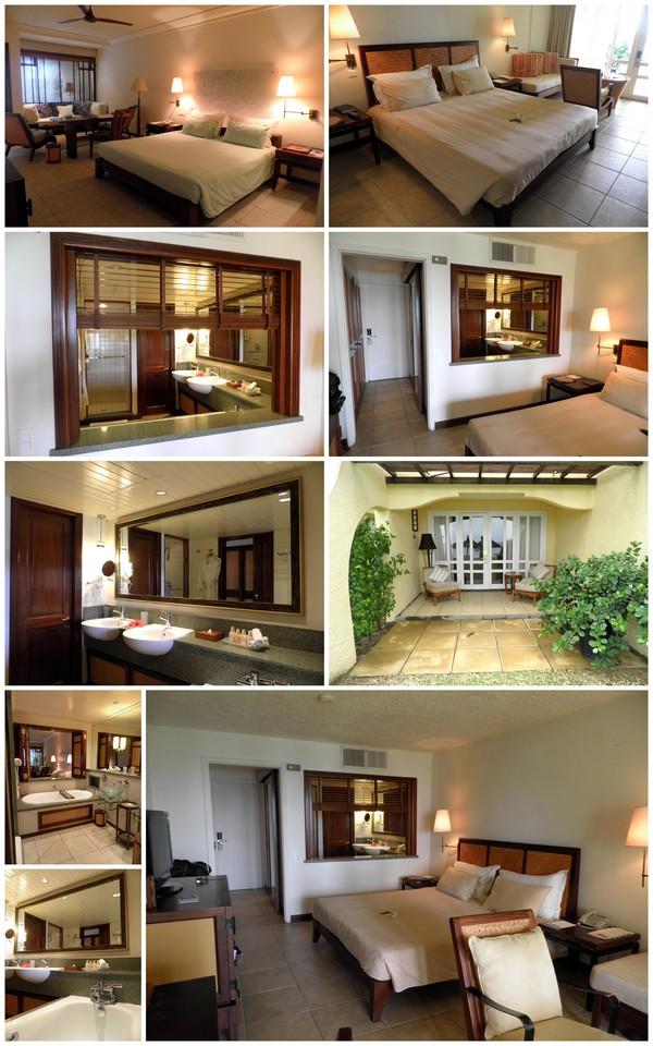 Chambre Prestige de l'hôtel Constance Belle Mare Plage