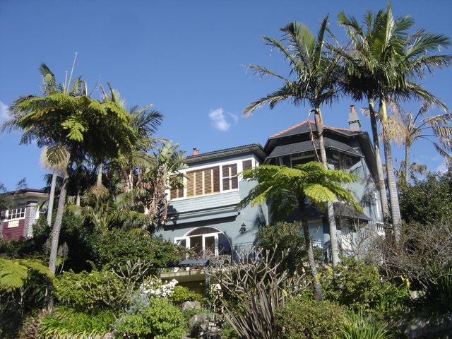 Maison australienne dans la Baie de Sydney