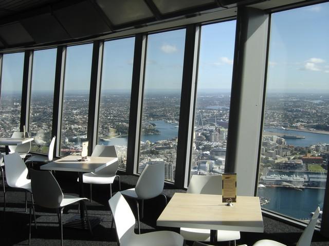 Déjeuner avec vue sur Sydney
