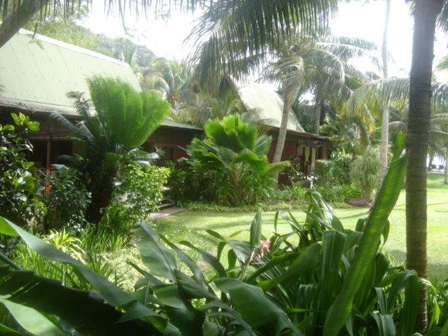Bungalows en bois - Hotel Paradise Sun