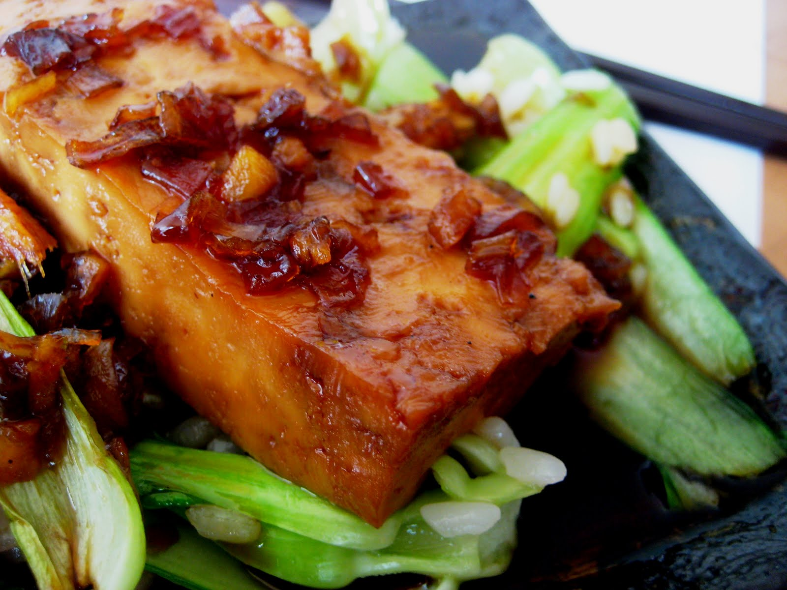 Braised Tofu in Caramel Sauce - Regional Recipes: Vietnam | Joanne ...
