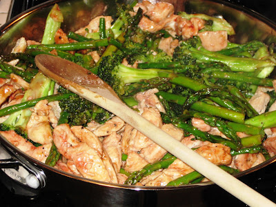 Chicken, Asparagus, and Broccoli Stir Fry | Joanne Eats ...