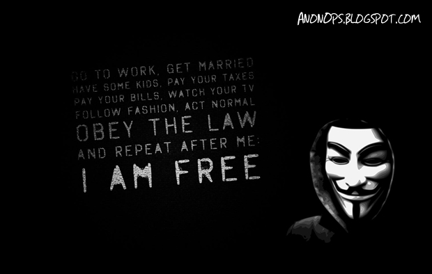 AnonOps diz que continuará derrubando sites