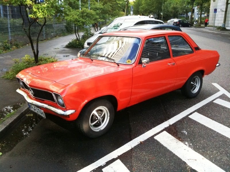 The Motorialist: Opel Ascona A 1.2 ... Old Time Rock'n ...