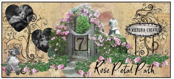 7 Rose Petal Path