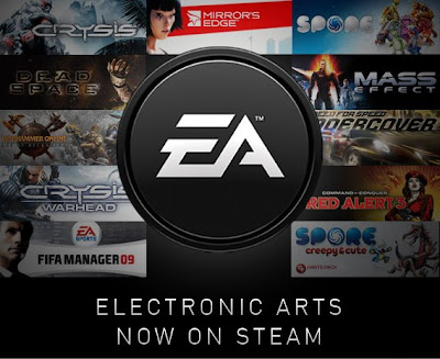 EA games now on Steam