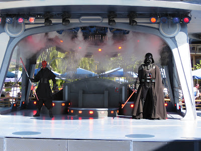 Disneyland - Darth Maul and Darth Vader