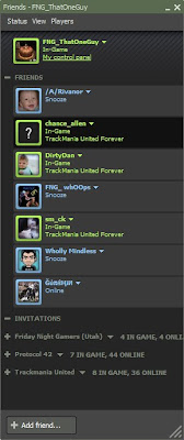 Lots of TrackMania United going on!