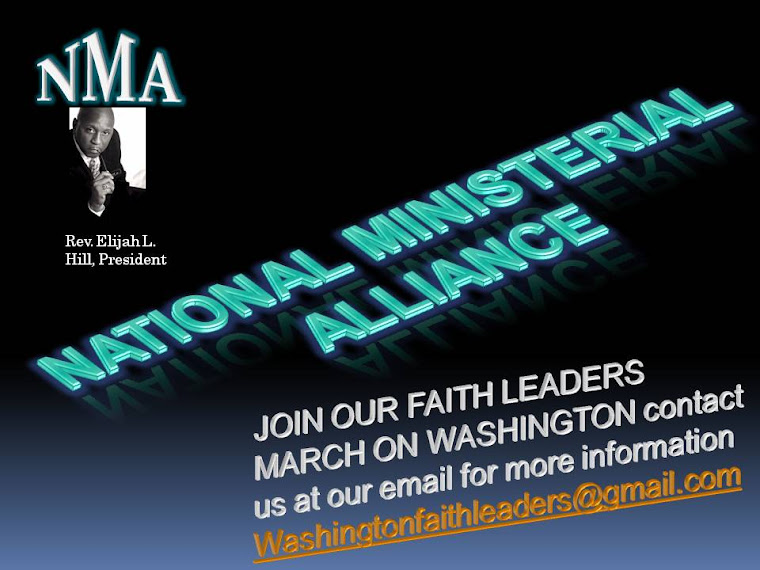 Click on this picture to listen to the vision in audio of the National Ministerial Alliance