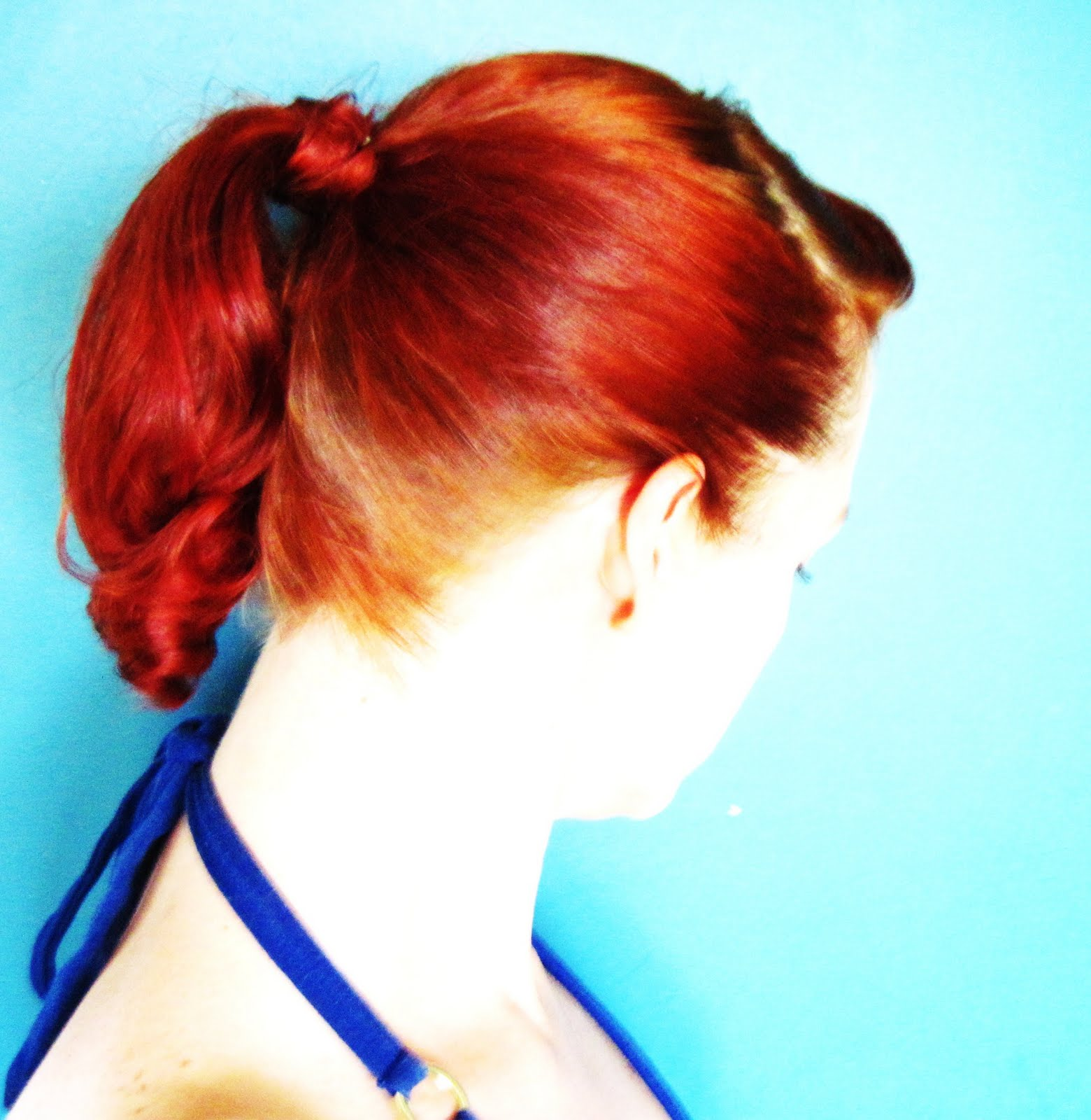 just hair style guys: High Humidity Hairstyles~The Structured Ponytail #0CB5BF