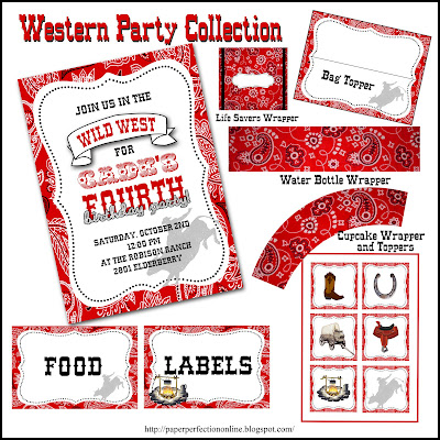 Party Dress Online on Of A Few Of The Printables That I Made For A Western Themed Party