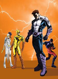 El panel del DC Universe del sabado en San Diego Thunder-agents
