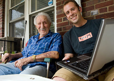 Surfing the web with my grandfather