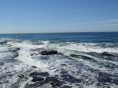 Lovely La Jolla Cove San Diego, alway one of the most beautiful places to sea the ocean.