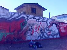 Mural en la Poblacion Santiago