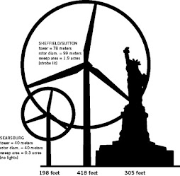 The Proposed Turbines in Champaign County will be even larger at 492 feet..