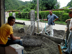 Cement Mixing, Panama Style
