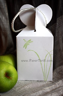 Lovely hearts wedding favor boxes