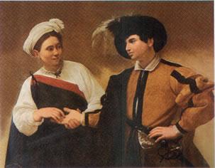 Caravaggio's Corner:La buona ventura