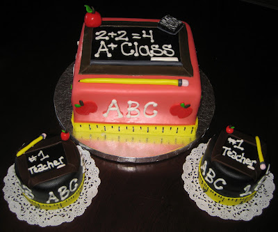 Cake Images For Teacher : SASSY CAKES - Your Fondant Cake Design Destination ...