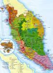 maps of penisular malaysia